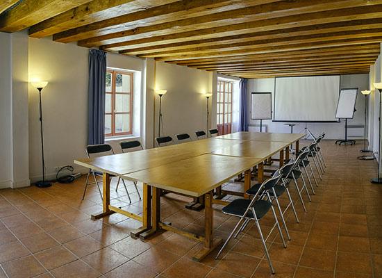 Château de Châtenay séminaire au vert près de Paris salle de réunion