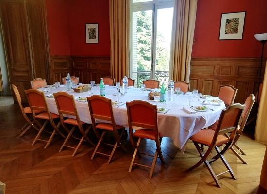 Château de Châtenay séminaire au vert près de Paris restauration